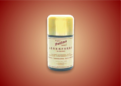 Lederfarbe für Glattleder 50 ml Flasche