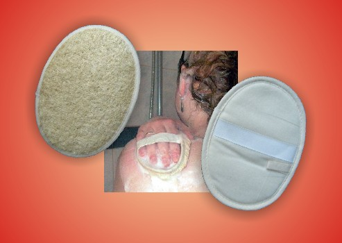 LUFFA - MASSAGE - PAD